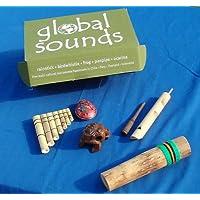 Coffret cadeau des 5 meilleurs Instruments de musique du monde by Thorness