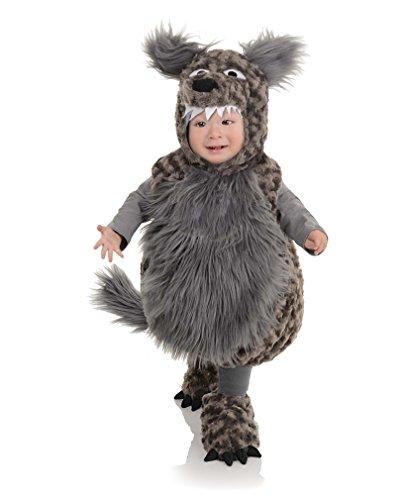 Schwanz Kostüm Und Wolfs Ohren (Wolf Kostüm für Kleinkinder)