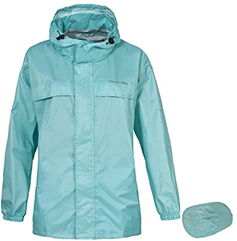 Trespass Packa Jacket - Adults Pack Away Jacket Tropical - Large