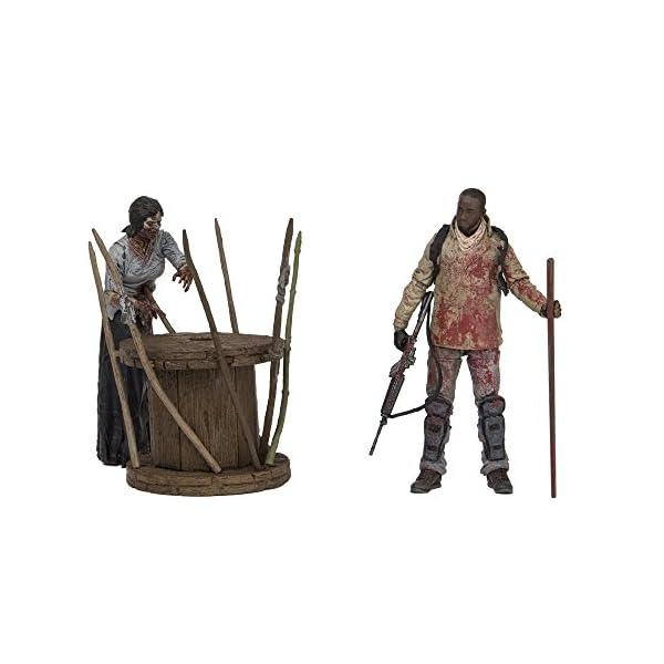 MC Farlane - Pack Walking Dead - TV Survival Morgan Diorama 13cm - 0787926145151 3
