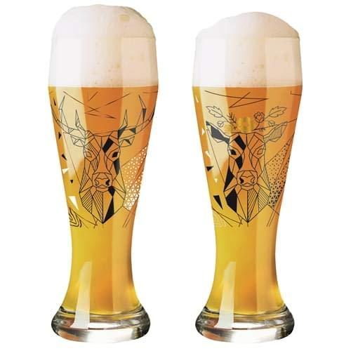 RITZENHOFF 1029001 Weizen Weizenbierglas, Glas, 645 milliliters