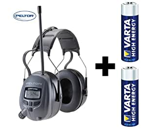 Peltor WTD2600 Worktunes Casque-radio digital Protection auditive 26 dB
