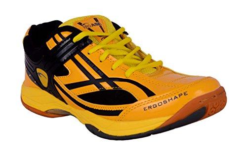 PROASE Yellow Badminton Shoe