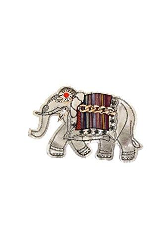 YOIL Einzigartige Elefant Muster Zierstich Patch Badge - Elefanten Kostüm Muster