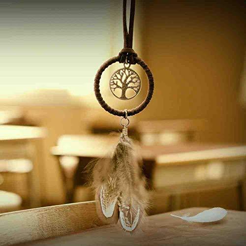 WAXY Mini segnalibri Dreamcatcher HandmadeIndian Dream Catcher Cafe & Bar & Bag Appeso Pendente Decor Regalo 5 Diametro