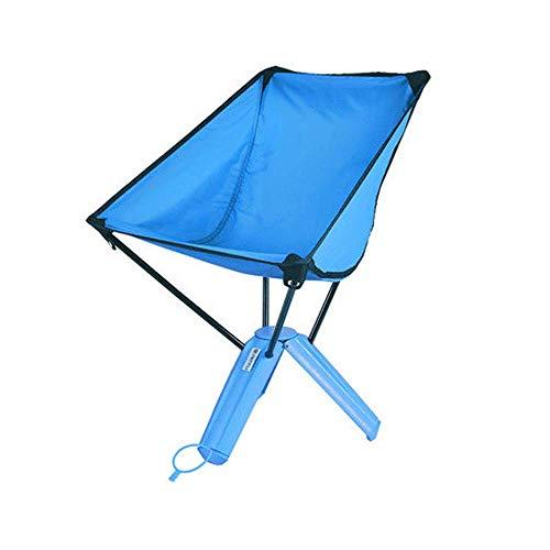 HONGSHENG Outdoor Klapphocker - Portable Storage Picknick Grill Angeln Freizeit Dreieck Faule Stuhl,Blue -