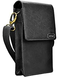 JusTrack Unisex Genuine Leather Sling Bag