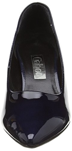Gabor Arnica 2, Escarpins femme Bleu (Dark Blue Patent HT)