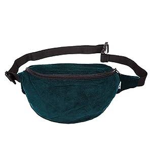 Bauchtasche, cord fein grün, Hipbag, Umhängetasche, Gürteltasche, Hüfttasche