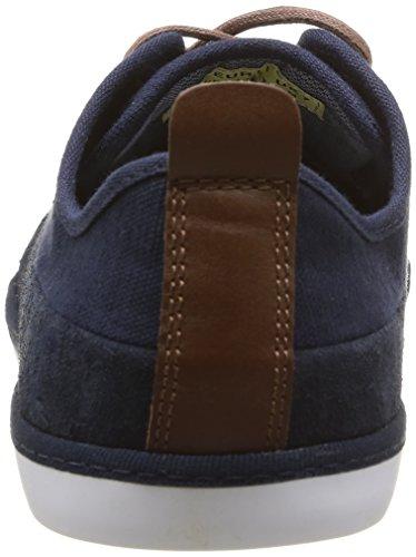 Clearblue - Sidra, scarpe casual  da uomo Blu(Bleu (Navy/Cognac))