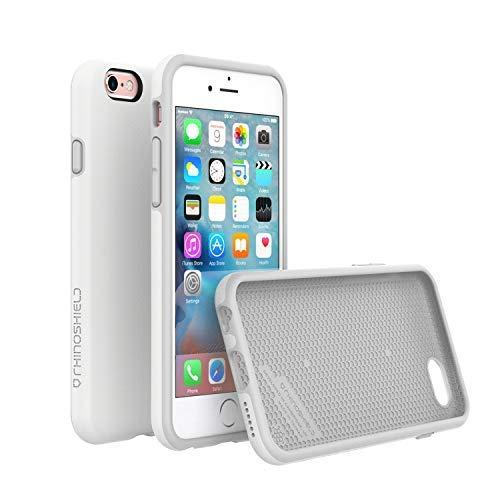 iPhone 6 Plus/iPhone 6S Plus Case [RhinoShield PlayProof] | Schock Absorbierende Ultradünn Designte Schutzhülle [3,5 Meter Fallschutz] - Robustes Case für - Weiß (Protector Phone Plus I 6 Shield)