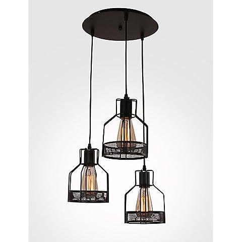 Fx@ 40W Rústico/Campestre Mini Estilo Pintura Metal Lámparas Colgantes Comedor / Habitación de estudio/Oficina / Habitación de Juego / Garaje ,