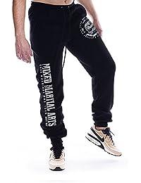 Dirty Ray Arts Martiaux MMA pantalon de sport homme avec èlastique à la fin SDMMA2BS