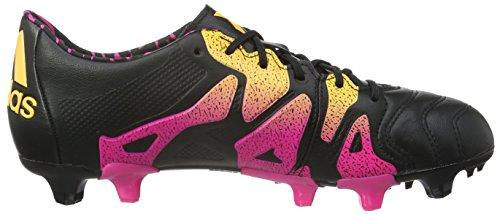 adidas X 15.1 FG/AG Leather, Chaussures de Foot Homme Noir