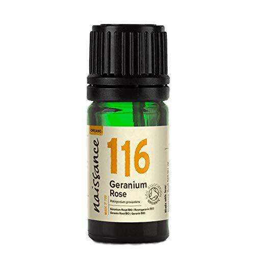 Naissance Geranio BIO - Aceite Esencial 100% Puro - Certificado Ecológico - 5ml
