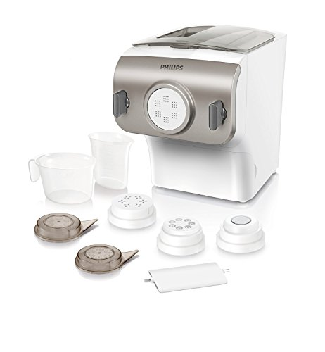 Philips hr2355/12 - philips pasta maker per preparare pasta fresca nel tempo in cui l'acqua bolle, programmi automatici - avance collection [versione tedesca]