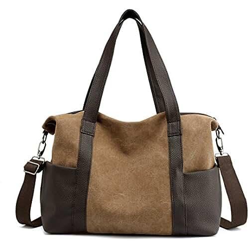 Bolso de Mano Grande Bordado Bolsas y bolsos para Mujer | eBay