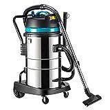 TY-Vacuum Cleaner Mmm@ Aspirapolvere Umido e Secco 1800w Aspirapolvere Industriale ad Alta Potenza 50l Grande capacità Adatto per Hotel Fabbrica Officina Magazzino Centro Commerciale intrattenimento
