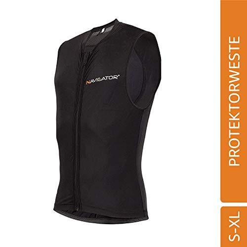 NAVIGATOR Armor Maglia di Protezione, Gilè, Unisex, per Lo Sci, Snowboard, Bicicletta (L/XL)