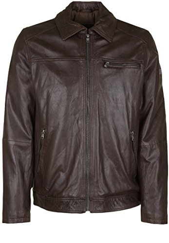 OTTO KERN Leather Jacket 508-62438 brown DE 54