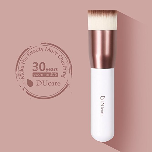 Make up Pinsel Kabuki Foundation Brush Flat Top Professionelle Vegan Kosmetik Gesicht Puderpinsel Buffer Schminkpinsel