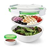 OXO On the Go Salad Box, Plastica, Bianco