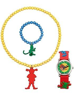 Pippi Langstrumpf Kinder 3tlg. Kinder-Schmuckset Pippi Langstrumpf PEG211-918