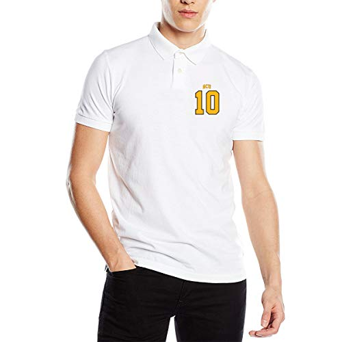 ty Football Jersey Men's Polo Shirts,Mens Premium Polo Shirt ()