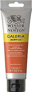 Winsor & Newton 120ml Galeria Acrylic Paint - Cadmium Orange Hue