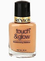 Revlon Touch and Glow Liquid Make Up, Natural Mist, 20ml