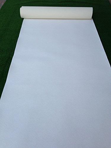 Camino de Boda, alfombra, color blanco
