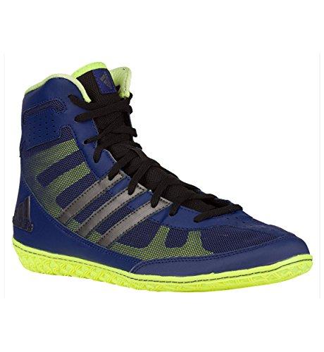 Adidas Mat Wizard.3 Wrestling Schuhe, Collegiate Burgund / schwarz / gold, 4 M Us Marineblau
