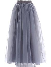 bd45873557 Amazon.it: gonna lunga - Grigio / Donna: Abbigliamento