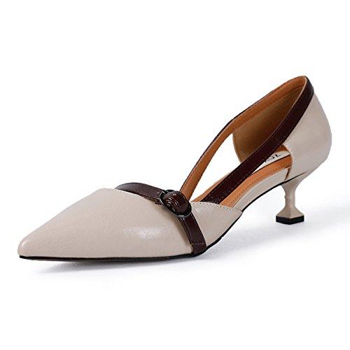 XTIAN - Scarpe con Tacco Donna Beige