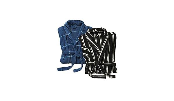 727570f502963 miomare - Peignoir - Homme - Bleu - X-Large: Amazon.fr: Vêtements et  accessoires