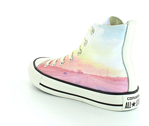 Converse  551623C, Baskets pour femme Pink/Green
