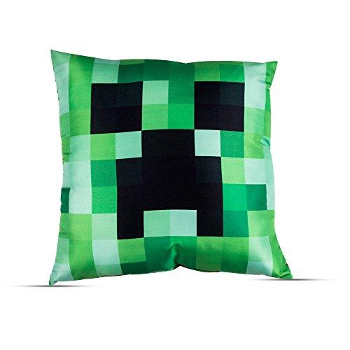 Minecraft Kissen, Motiv Block-logo-hut