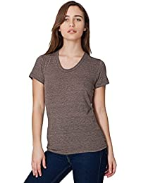 American Apparel Tri-Blend Short Sleeve Women's Track T