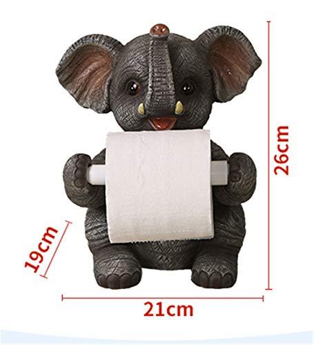 Joeesun Nette desktop stand home handtuchhalter kreative toilette toilettenpapierhalter restaurant küche toilettenpapierhalter elefanten