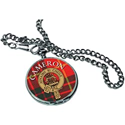 Cameron Scottish Clan Pocket Watch