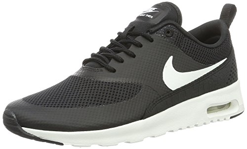 Nike Air Max Thea 599409 Damen Laufschuhe, Schwarz (Black/Summit White), 36 EU