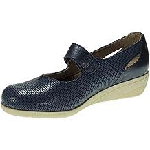 TUPIE 71TP Zapato Comodón en Cuña de 4CM y Velcro ...
