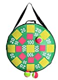 Gr8 Garden Game Inflatable Target Dart Board With Stick On Throwing Balls Childrens Kids Family Lawn Party Fun BBQ Summer Fairground Toy