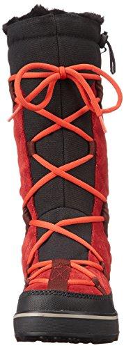 Sorel Glacy Explorer, Bottes femme Rouge (red Dahlia 660)