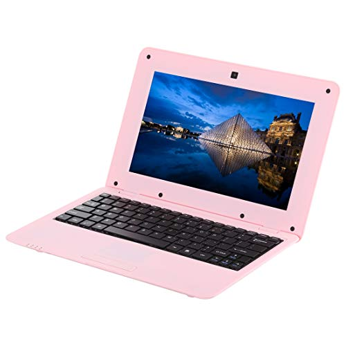 10,1-Zoll-Notebook-PC, 1 GB + 8 GB, Android 6.0 A33 Dual-Core-ARM Cortex-A9 mit bis zu 1,5 GHz, WLAN, SD-Karte, U-Disk Gute Qualität (Farbe : Rosa) Android 4.0.4 Dual-core