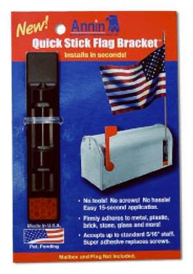 ANNIN FLAGMAKERS - Flag Bracket, Adhesive
