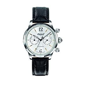 Ingersoll Automatic Men's Watch IN8009SL with Black Leather Strap