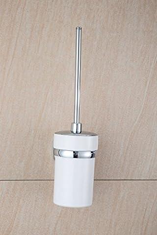 MDRW-Badezimmer-Lieferungen Edelstahl Klobürste Rack, Bad Putzen Rack, Wand Pferd Pinsel