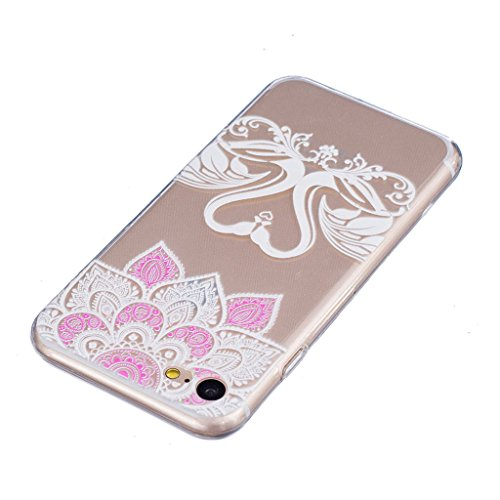 "iPhone 7 Coque - MYTHOLLOGY Antichoc Housse Transparent Silicone Souple Slim Coque iPhone 7 (4.7"") - JBLS AXQE"