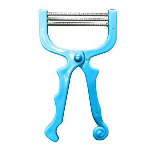 Liqiqi Gesichts Haarentferner Werkzeug Face Beauty Tragbarer Frühling Gesichts Epilierer Schönheit Epilator Werkzeug ( Blau)